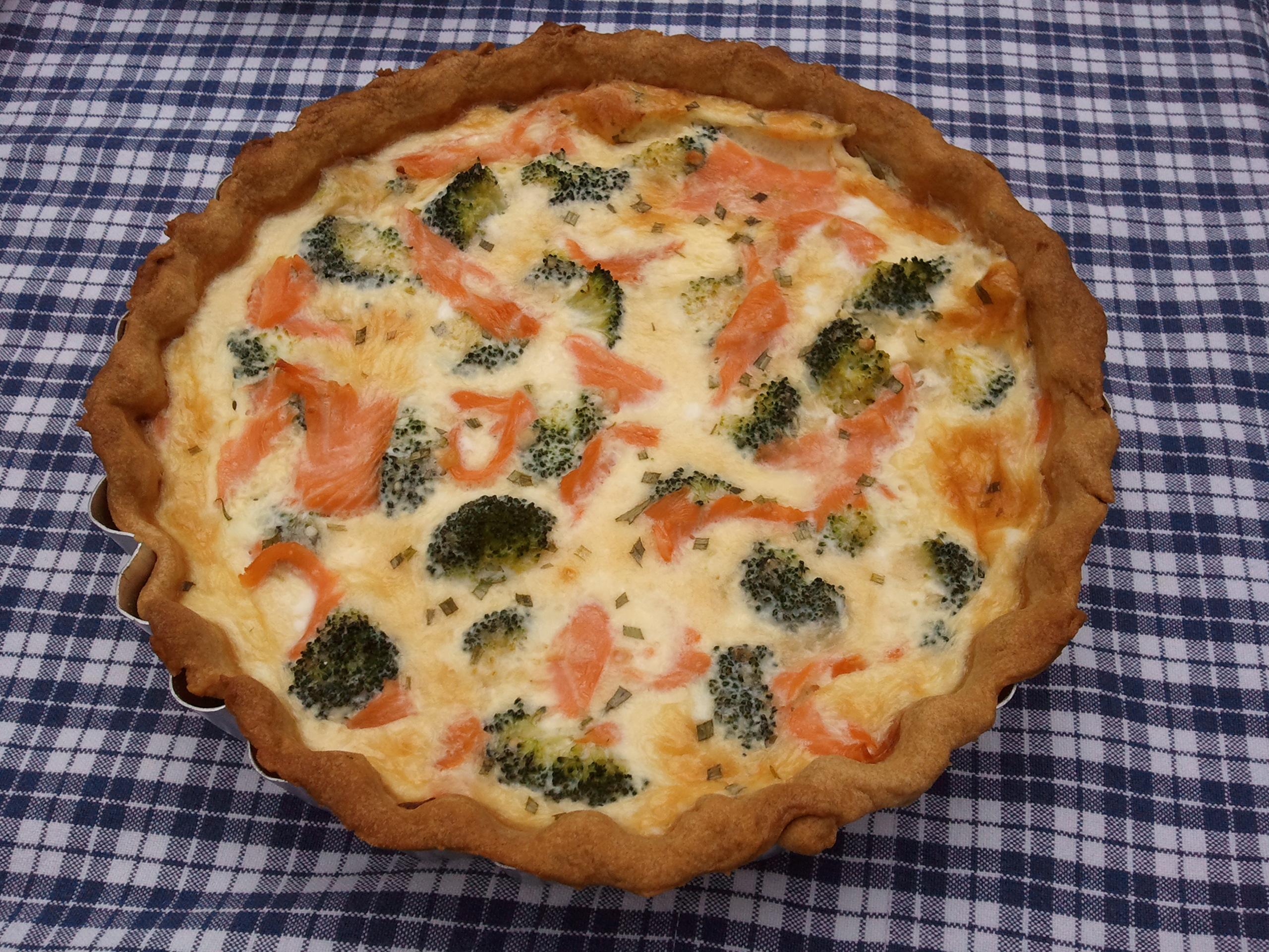 Ricetta Quiche Broccoli.Smoked Salmon And Broccoli Quiche Ricette Misfatti Recipes Misdemeanors