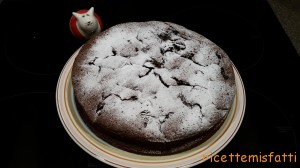 prune and chocolate torte1