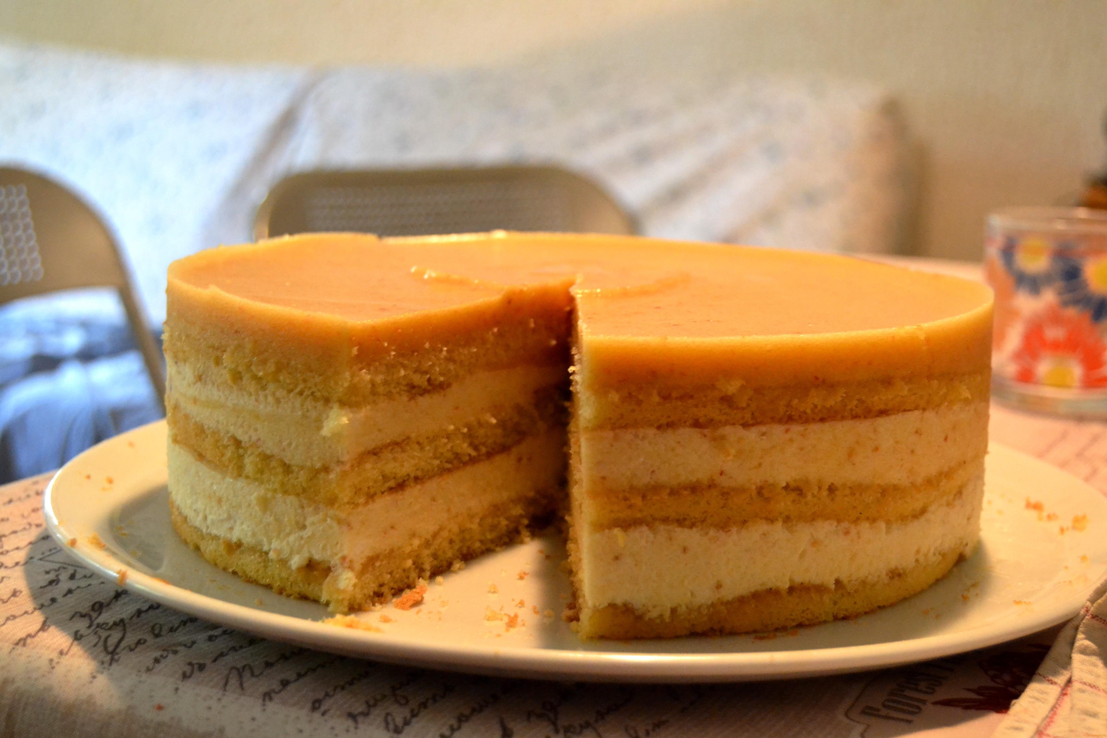 Torta Compleanno Laura.Torta Bavarese Alle Pesche Ricette Misfatti Recipes